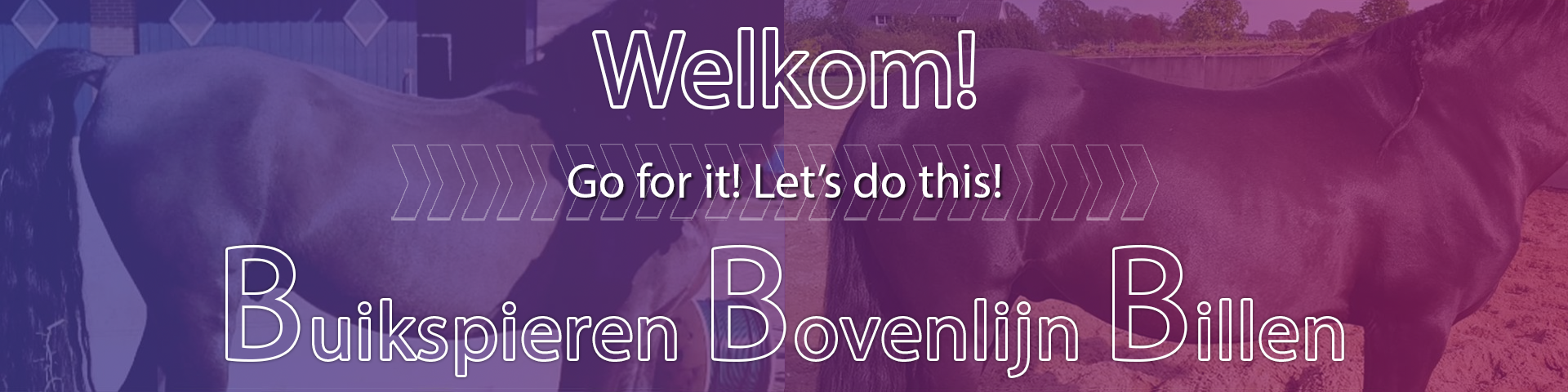 Go for it! Let's do This! BBB cursus, buikspieren bovenlijn billen